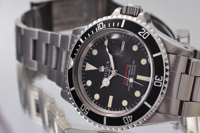 Rolex Oyster Perpetual Submariner mit Meters-first-Zifferblatt