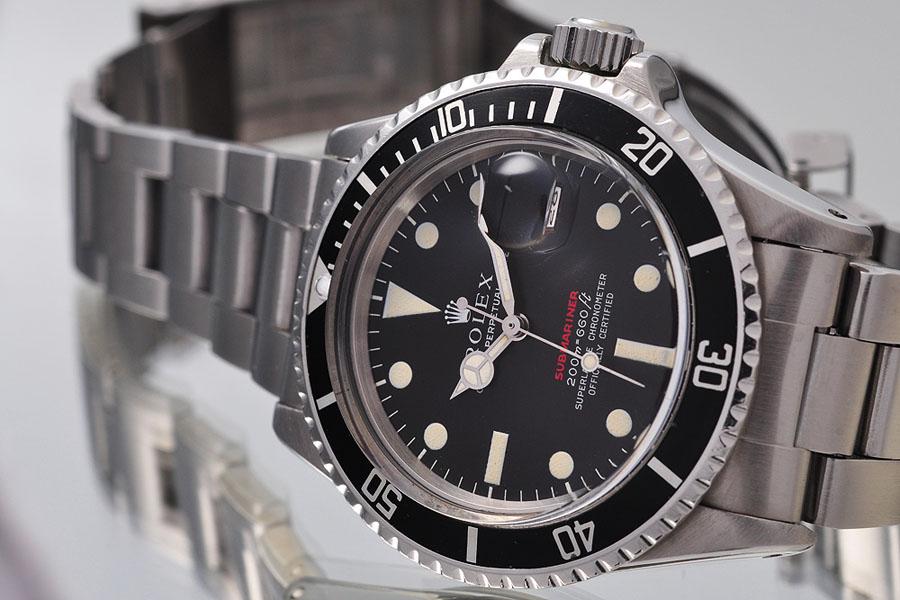 Rolex Oyster Perpetual Submariner mit Meters-first-Zifferblatt