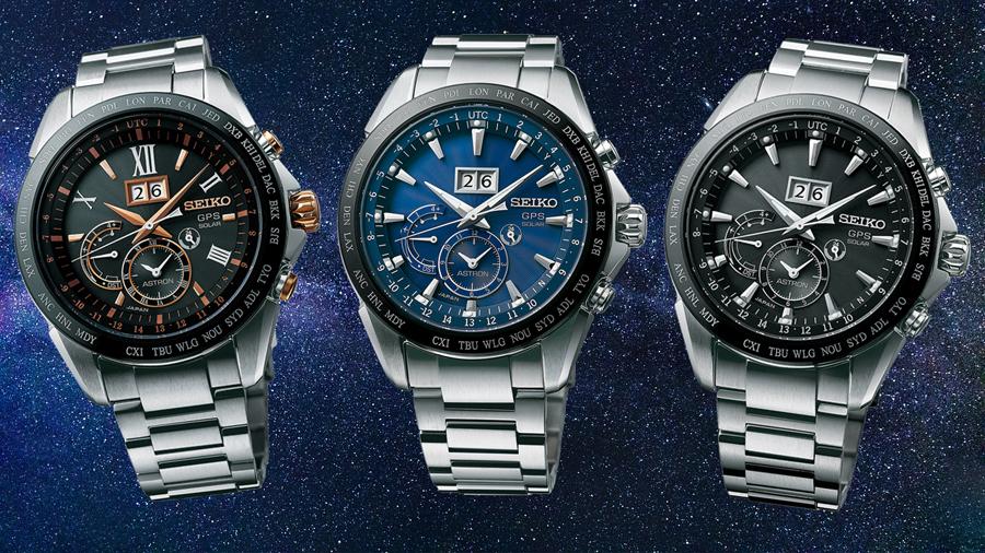 Seiko: Astron GPS Solar mit Großdatum SSE151J1, SSE147J1 und SSE149J1