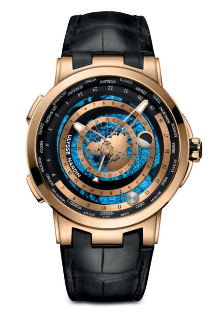 Ulysse Nardin: Executive Moonstruck Worldtimer