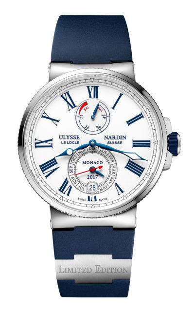 Ulysse Nardin: Marine Chronometer Annual Calendar Monaco