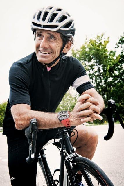 Getragen wird die Richard Mille RM 70-01 Tourbillon Alain Prost am rechten Handgelenk