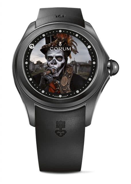 Big Bubble Magical Voodoo: Erst 1955 gegründet, gehört Corum doch zu den wichtigen Uhrenmarken aus La Chaux-de-Fonds
