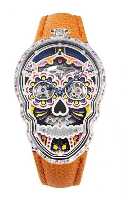 Das Werk bestimmt die Gestaltung: Fiona Krüger Petit Skull Eternity