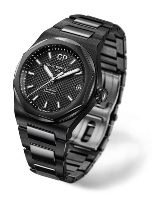 Girard-Perregaux: Laureato 42 mm Ceramic