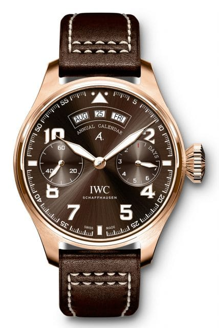 "IWC: Big Pilot's Watch Annual Calendar Edition ""Antoine de Saint Exupéry"""