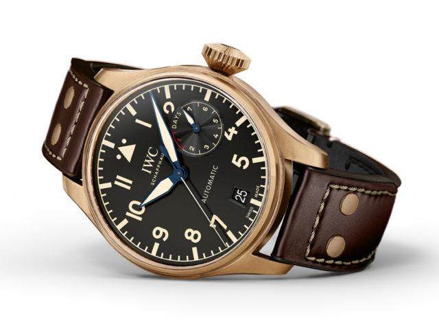 IWC: Big Pilot's Watch Heritage mit Bronzegehäuse