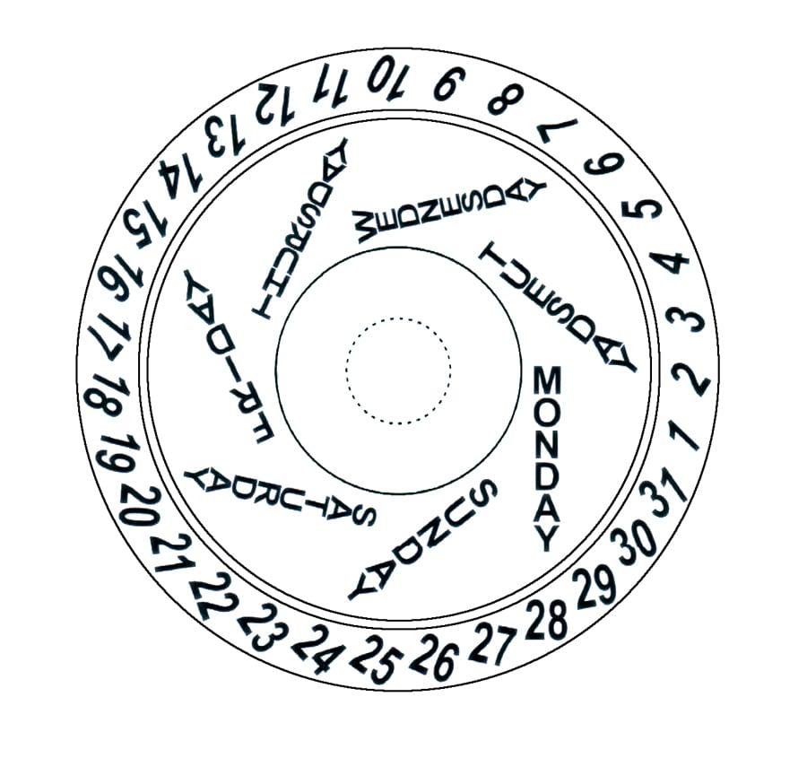 Jean Marcel Mythos Vertical Limit Day Date Datumsscheibe