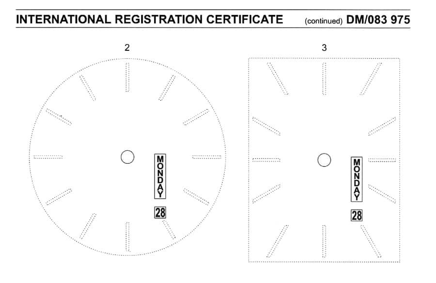 Jean Marcel Mythos Vertical Limit Day Date Patent