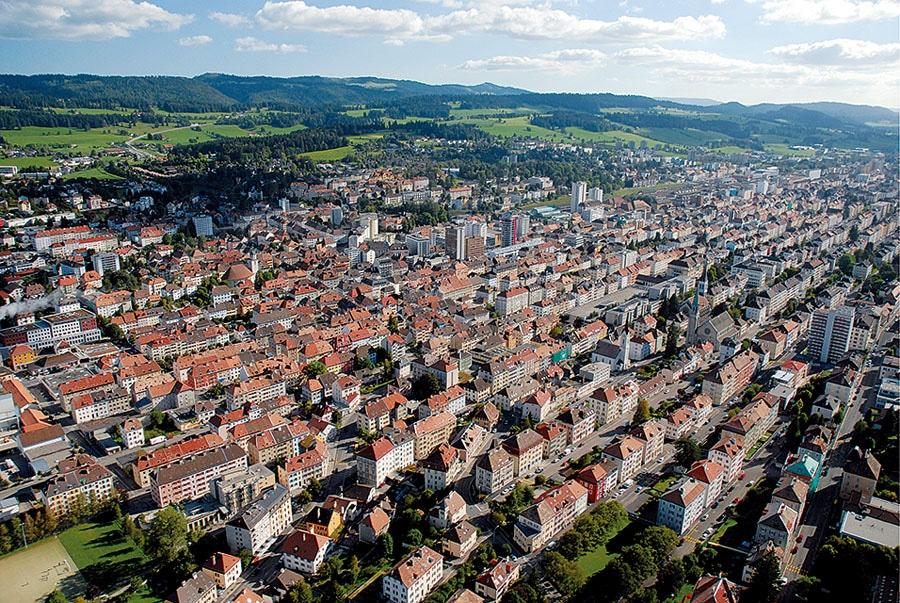 UNESCO-Weltkulturerbe: La Chaux-de-Fonds
