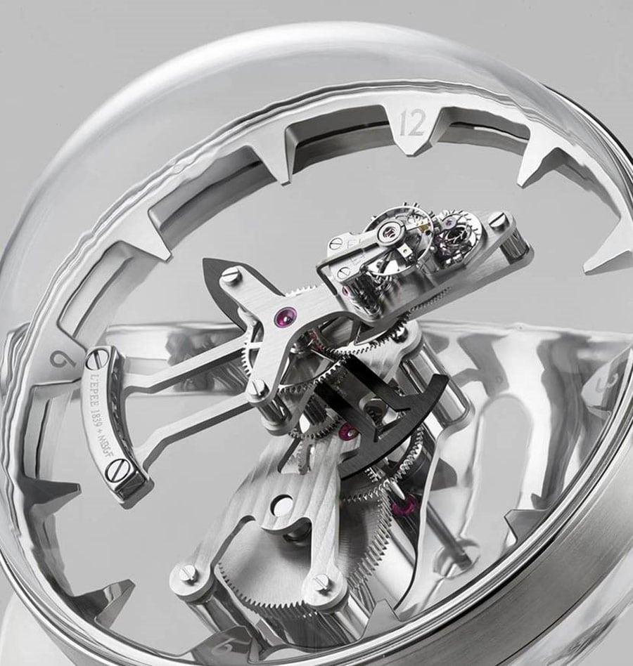 Uhrwerk der MB&F Octopod