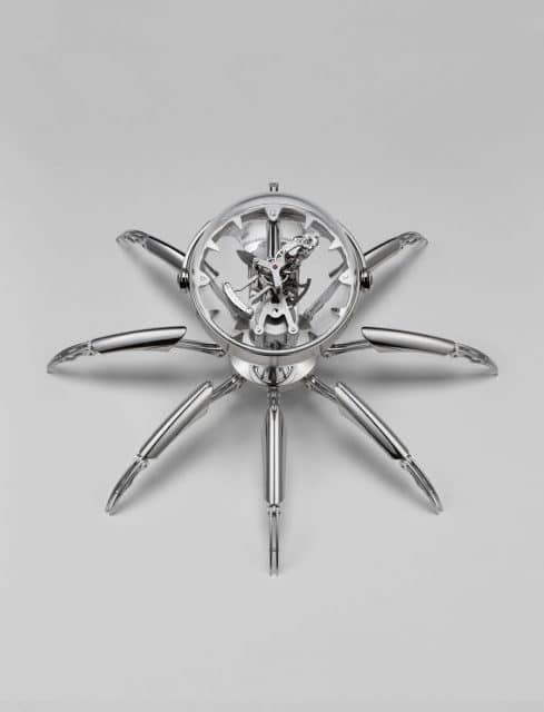 MB&F: Octopod in Silber