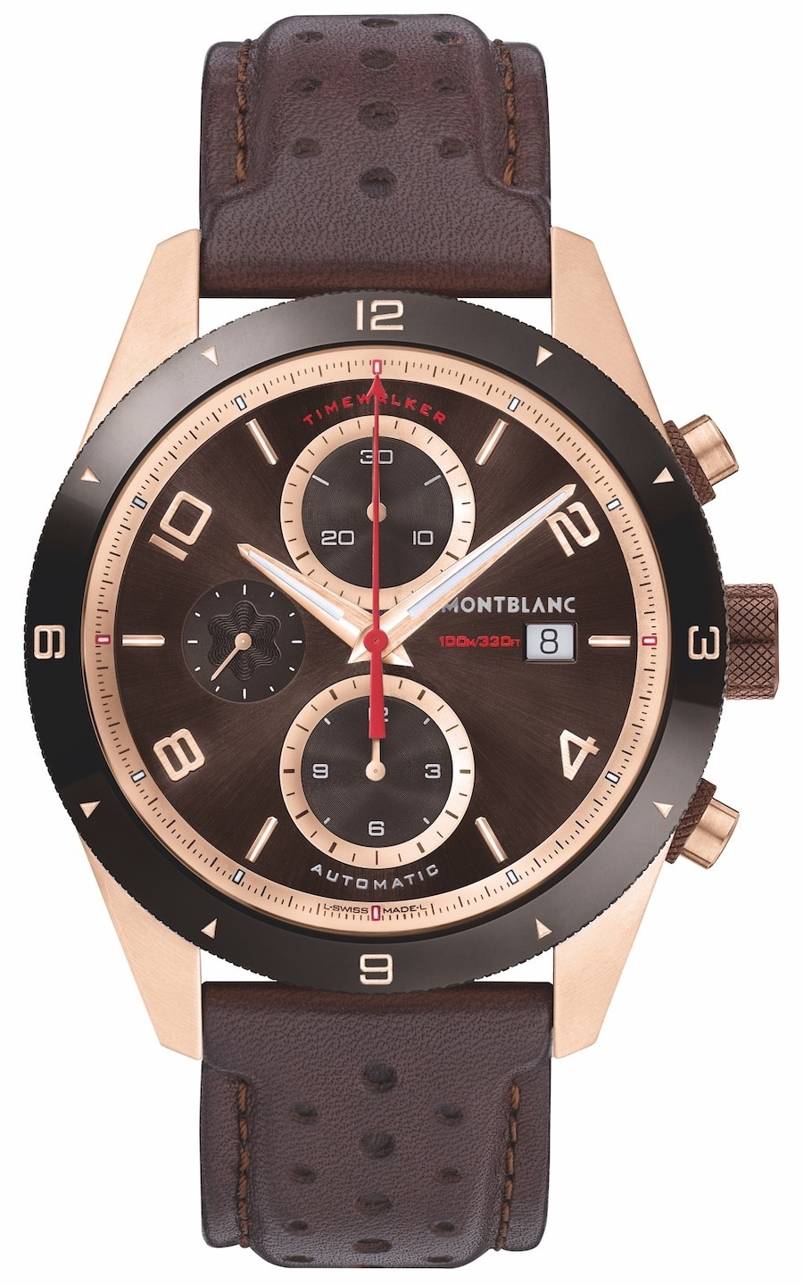 Montblanc: Timewalker Automatic Chronograph Rotgold
