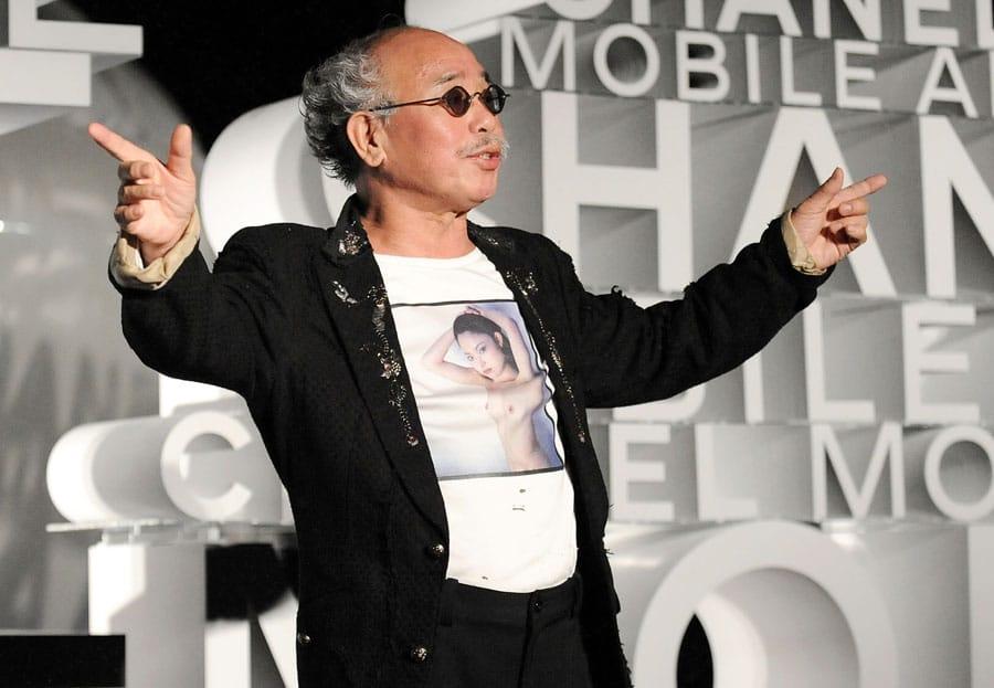 Der japanische Fotograf Nobuyoshi Araki. Bild: Getty