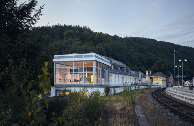 Nomos Glashütte Bahnhof