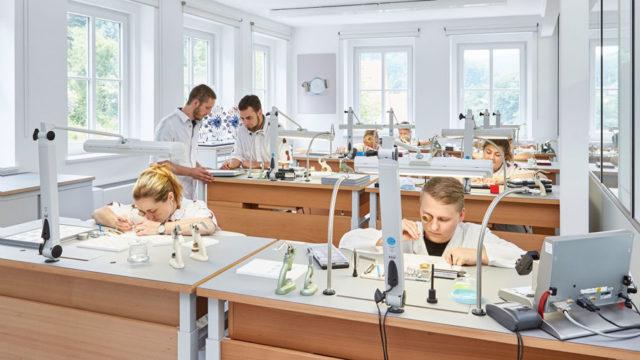 Manufaktur von Nomos Glashütte