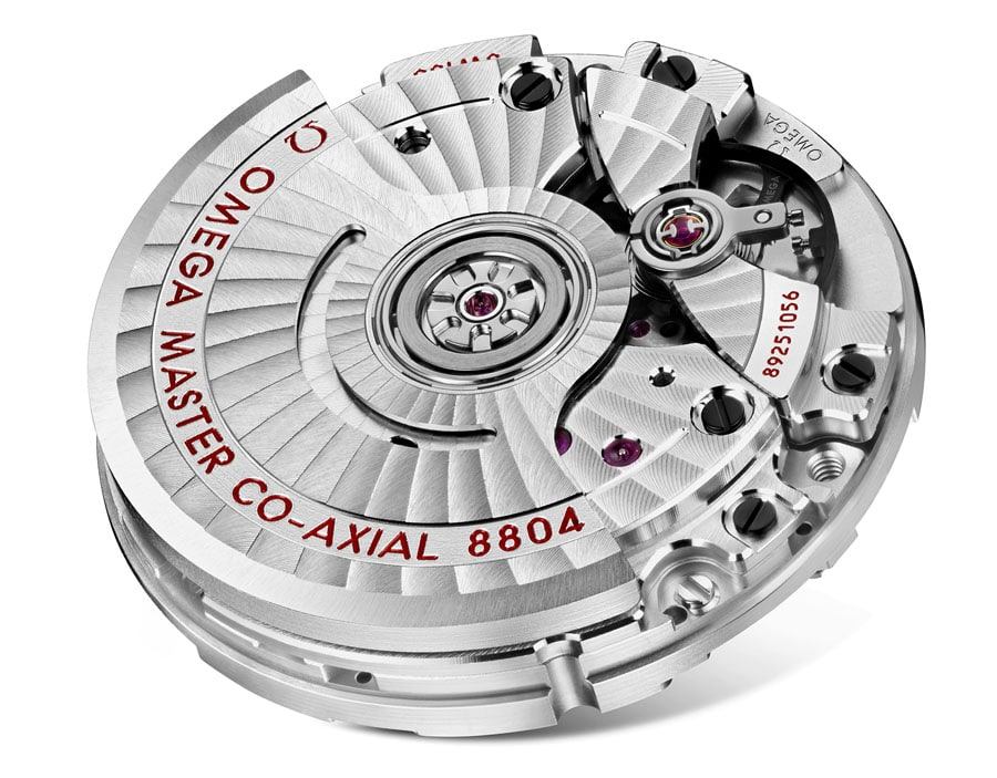 Omega-Kaliber: 8804 mit kleiner Sekunde