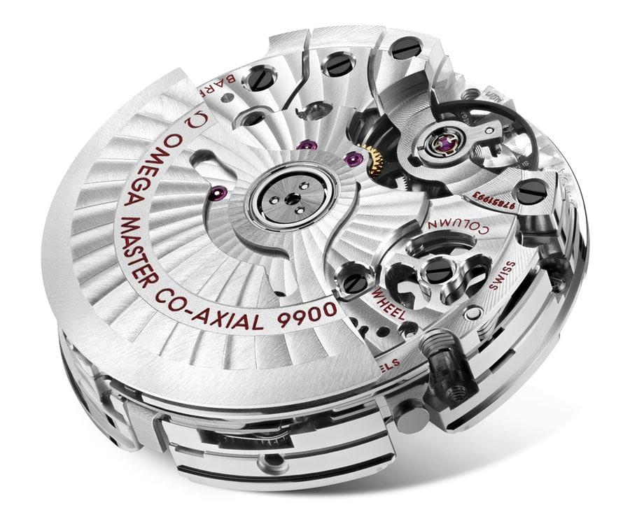 Omega-Kaliber: 9900 mit Chronographenfunktion