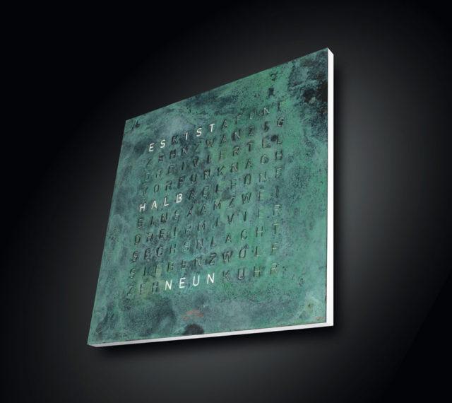 Qlocktwo: Creator's Edition Vintage Copper