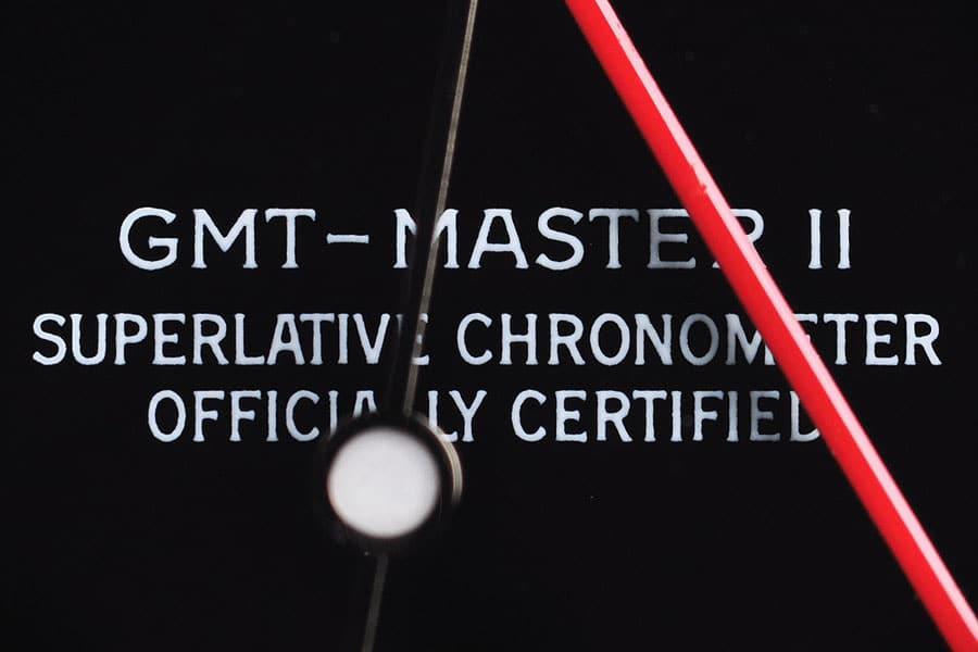 Rolex: Stick Dial einer GMT-Master II Referenz 16710