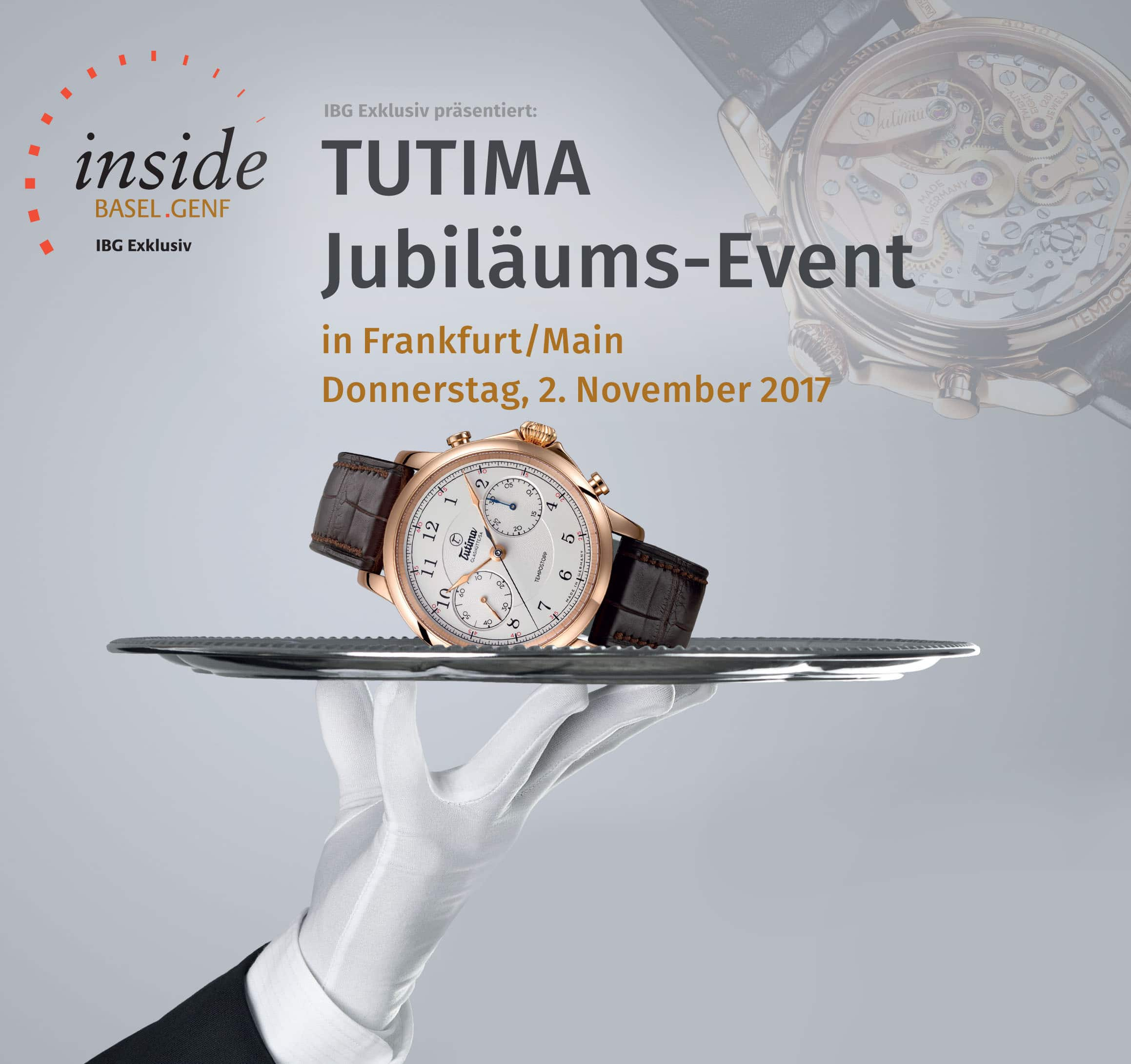IBG Exklusiv: Tutima-Jubiläumsevent