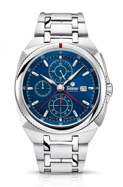 Tutima: Saxon One Chronograph Royal Blue