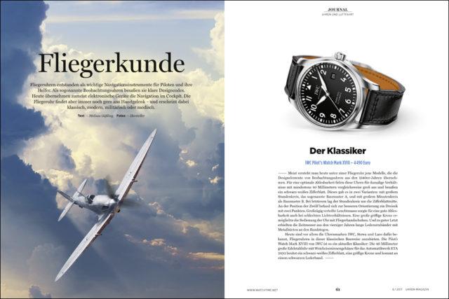 Das Special zum Thema Fliegeruhren erläutert Geschichten und Fakten zu dieser facettenreichen Uhrengattung.
