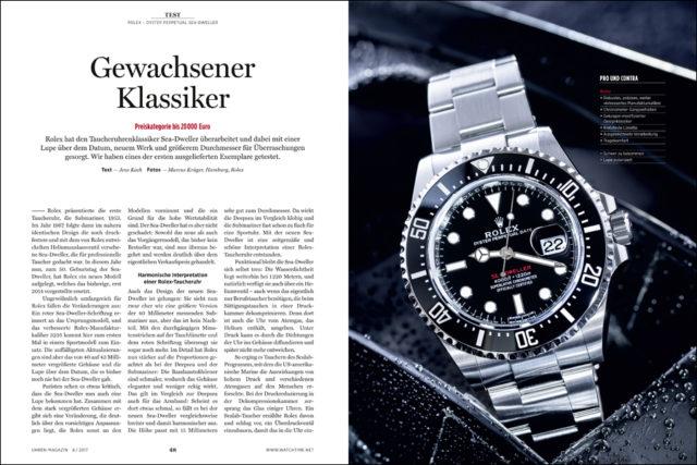 Rolex hat seine Sea-Dweller erheblich überarbeitet. Wir klären, welche Vorzüge das bietet.