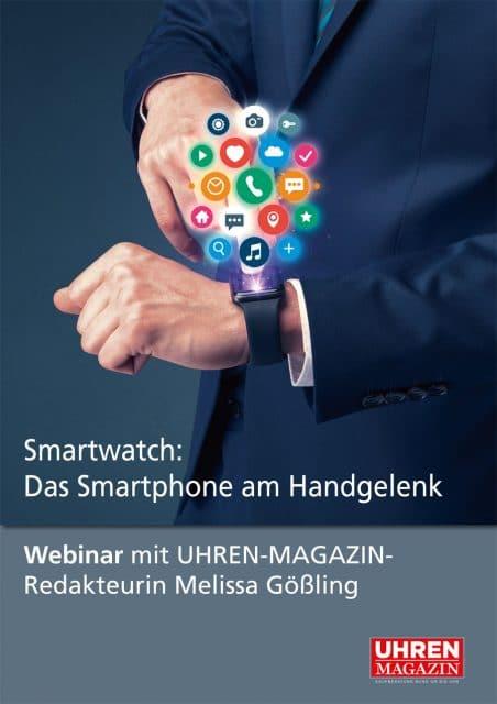 Webinar: Smartwatch das Smartphone am Handgelenk