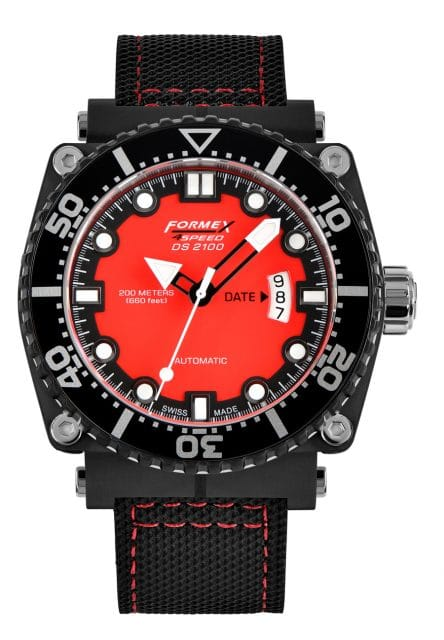 Formex Swiss Watches: DS 2100 Modell 7074 (675 Euro)