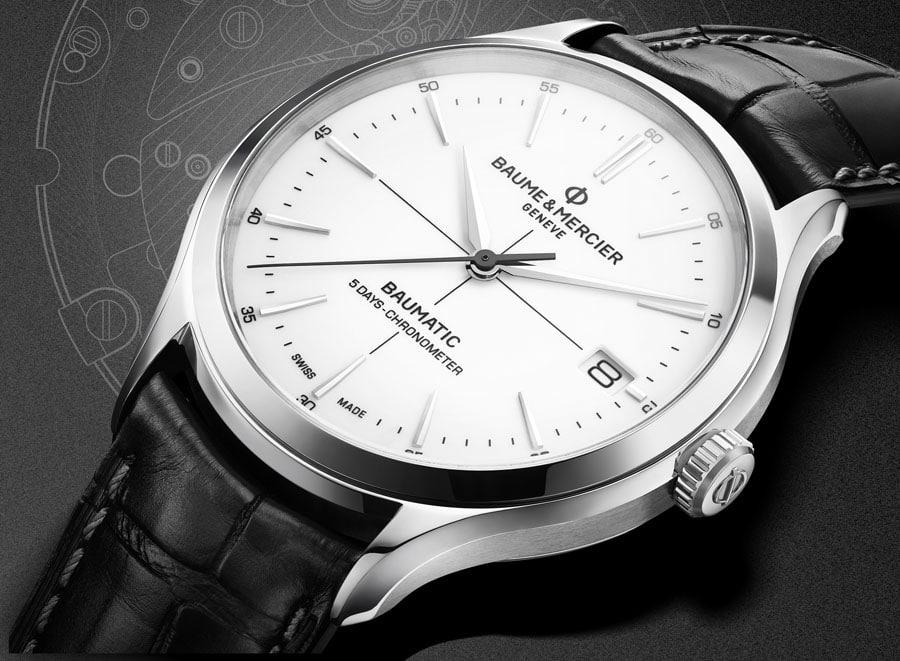 Baume & Mercier: Clifton Baumatic als Chronometerversion
