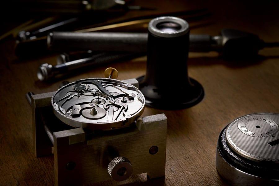 Breguet: Restaurierung einer alten Taschenuhr