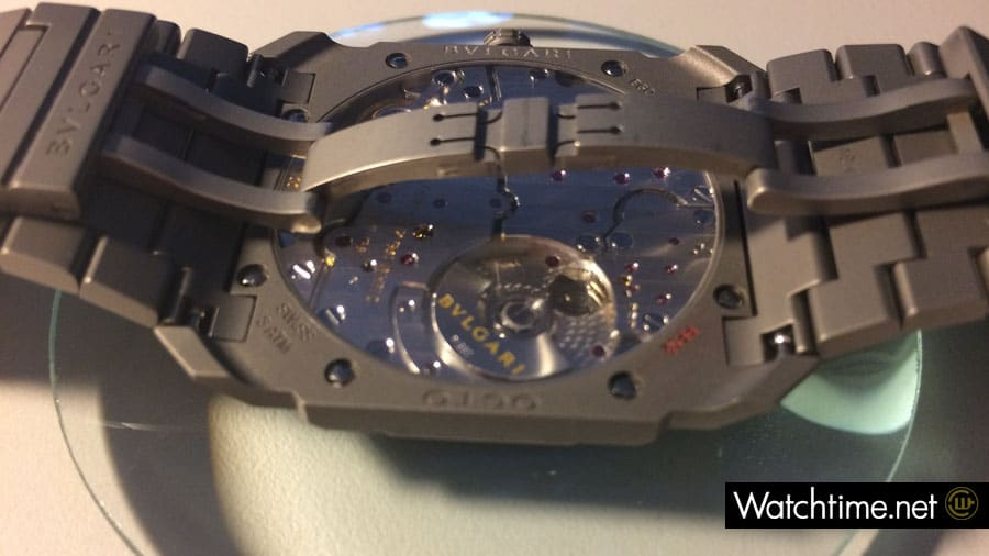 Die Bulgari Octo Finissimo Automatik mit dem Uhrwerk BVL 138