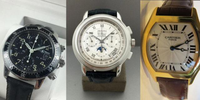 Catawiki-Auktionen: Bell & Ross, Zenith, Cartier