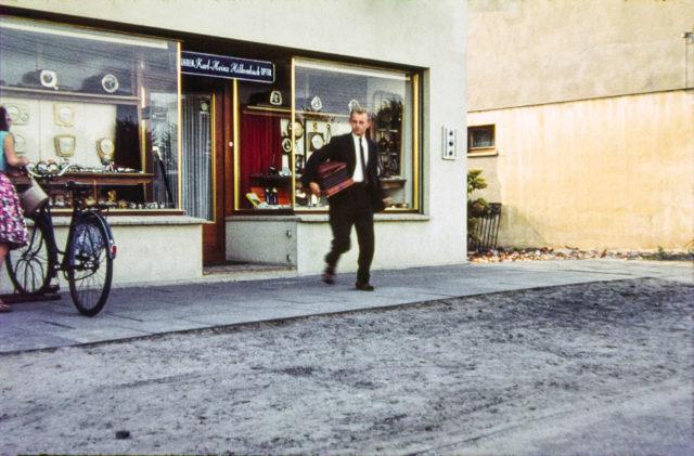 Dieter Delecate in den 1960er Jahren