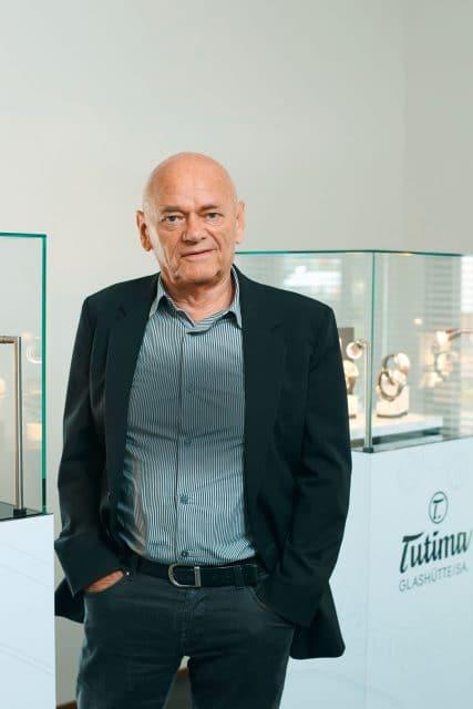 Tutima ist sein Lebenswerk: Dieter Delecate
