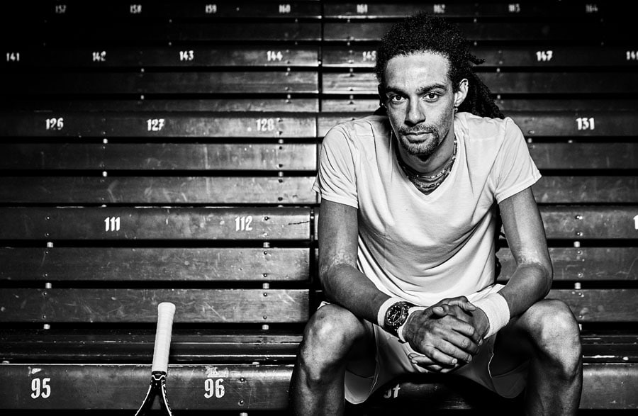 G-Shock-Ambassador Dustin Brown