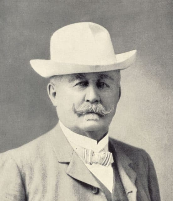 Zenith-Gründer Georges Favre-Jacot (1843–1917)