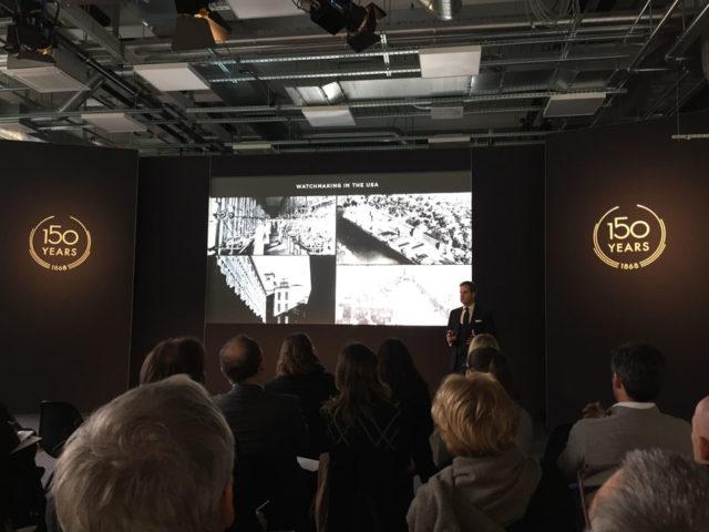 IWC-Messevorschau: CEO Christoph Grainger-Herr ließ in der neuen Manufaktur in Merishausen bei Schaffhausen die 150-jährige Firmengeschichte Revue passieren
