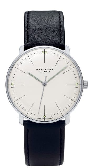 Junghans: Max Bill Automatic mit Strichindexen