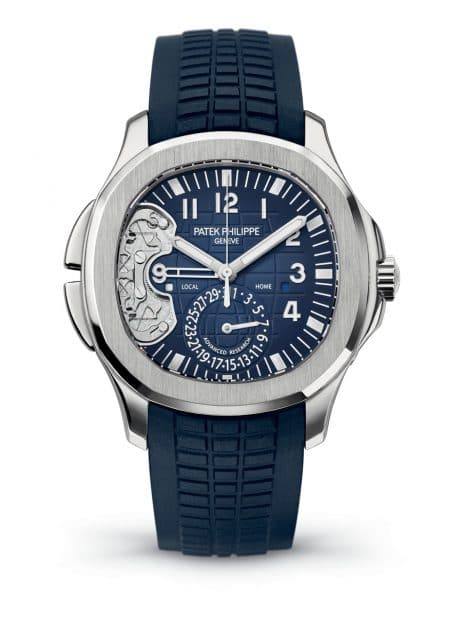 Patek Philippe Aquanaut Travel Time Ref 5650G Advanced Research