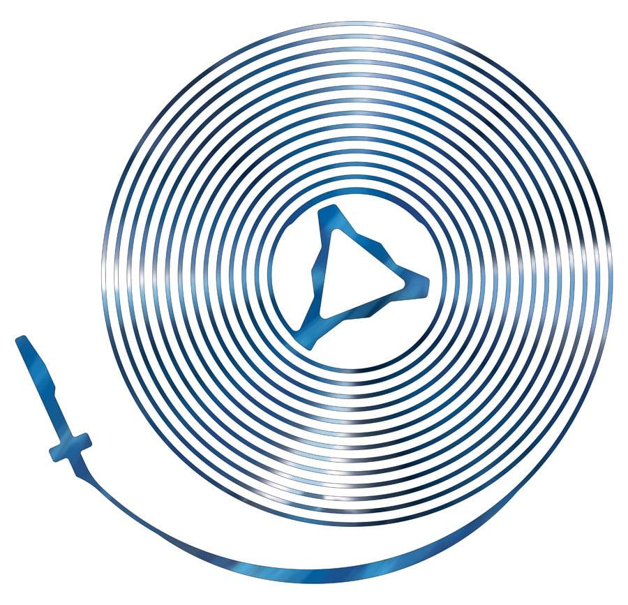 Die neue Spiromax®-Spirale von Patek Philippe mit patentierter Endkurve und neuer Befestigungsform innen