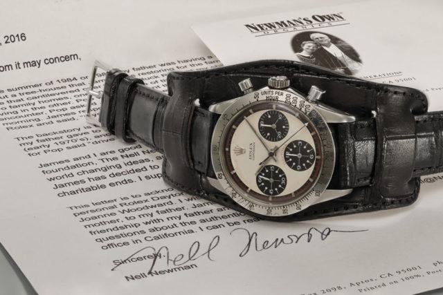 Teuerste Armbanduhr der Welt: Paul Newmans eigene Rolex Daytona