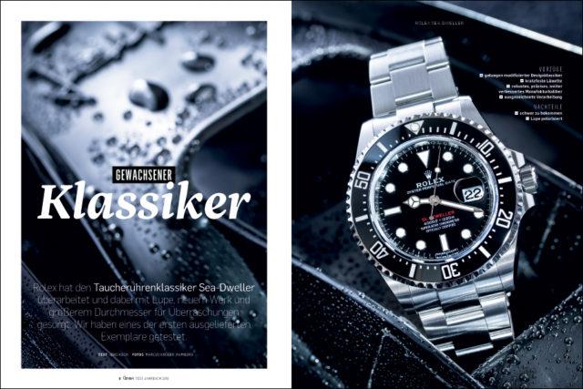 Chronos hat exklusiv die brandneue Rolex Sea-Dweller getestet