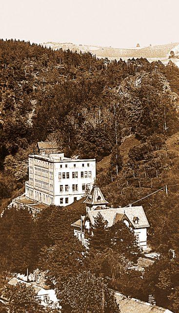 Die UFAG in Glashütte in den 1930er Jahren