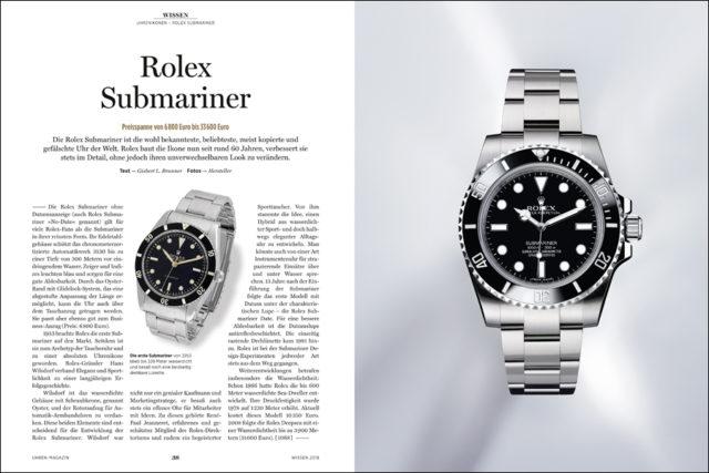 Die Submariner von Rolex ist der Inbegriff einer Taucheruhr uhnd eine Uhrenikone erster Güte.