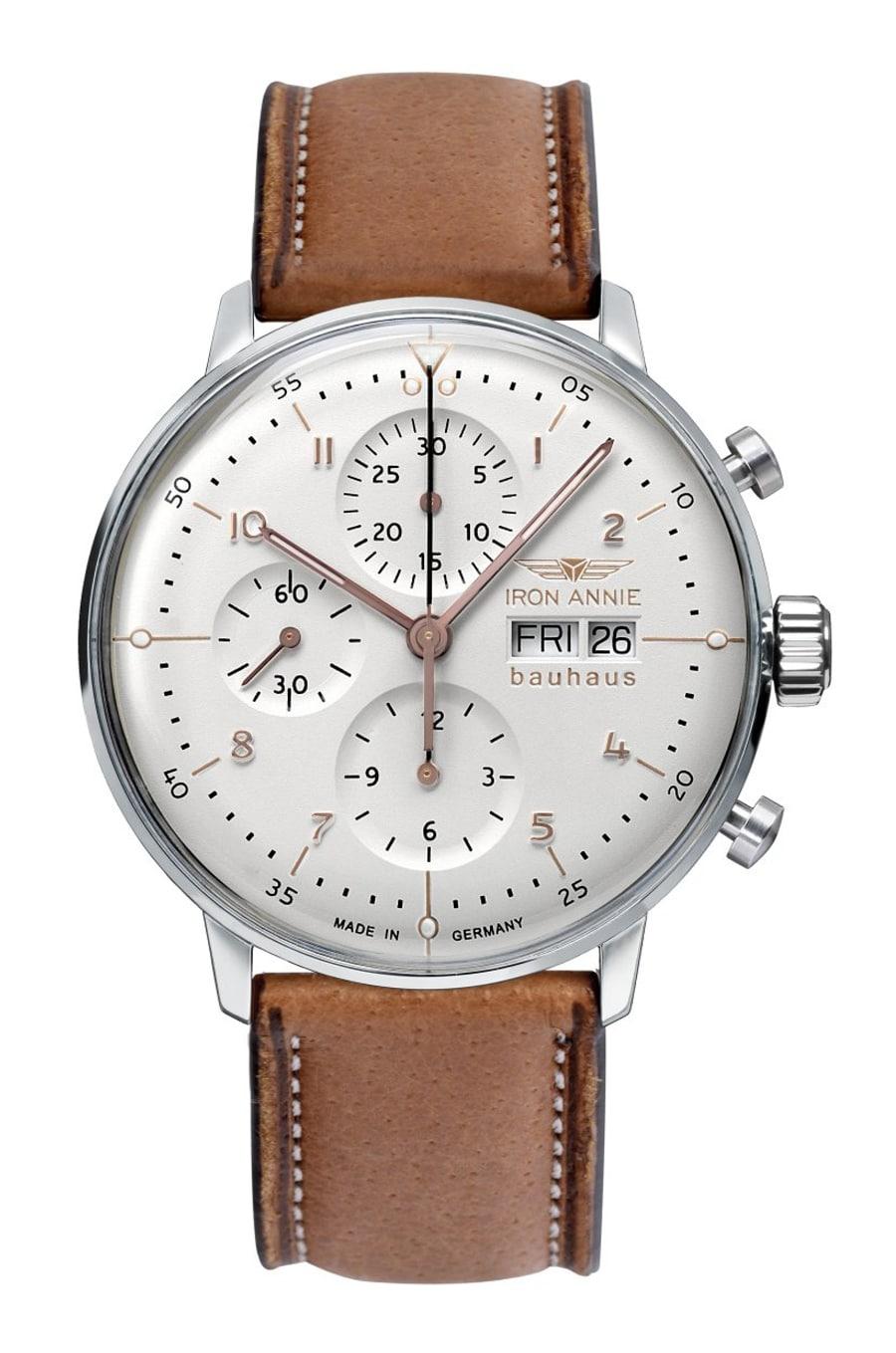 Iron Annie: Bauhaus Chronograph Automatik