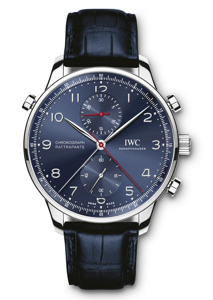 "IWC: Portugieser Chronograph Rattrapante Edition ""Boutique Munich"""