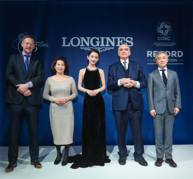 Longines neue Markenbotschafterin Zhao Liying