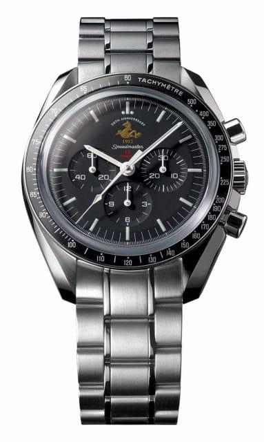 Omega Speedmaster 50. Jubiläums Patch 2007